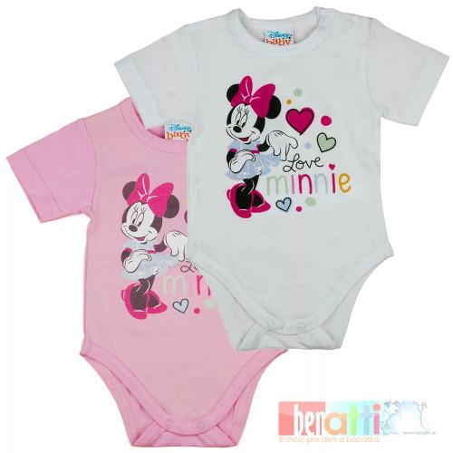 Body kojenecké s kr. rukávom - Minnie - D1002-69