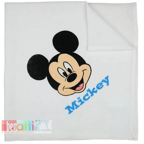 Textilná plienka Mickey - D1052-51