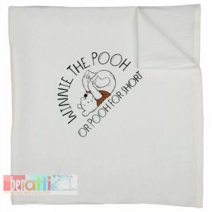 Plienka textilná Macko Pooh - D1052-54