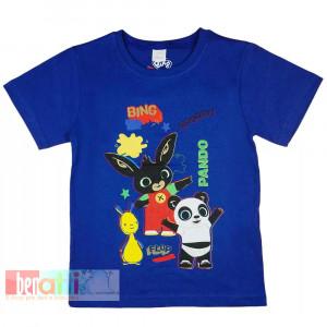 Tričko s krátkym rukávom - Bing - D1212-77