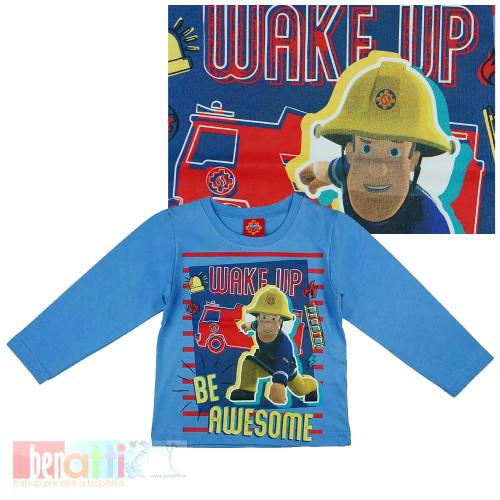 Tričko s dlhým rukávom - Požiarnik Sam - D1233-86-1