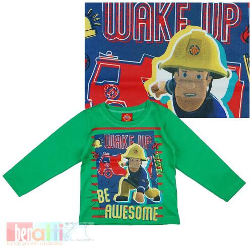 Tričko s dlhým rukávom - Požiarnik Sam - D1233-86-2