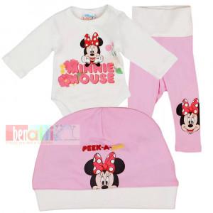 Súprava kojenecká 3 dielna - Minnie - D1353-49