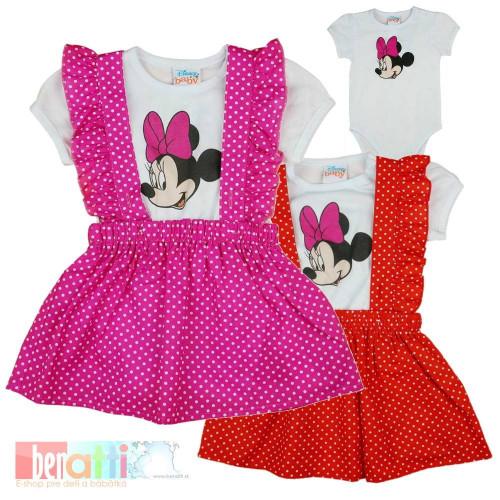 Sukňa + tričko Minnie - D1373-1