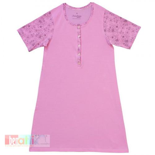 Nočná košeľa - Kvetinková  - 35109-1