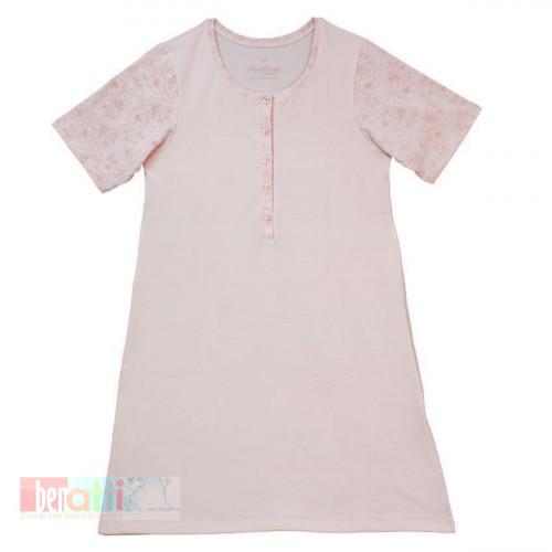 Nočná košeľa - Kvetinková - 35109-3