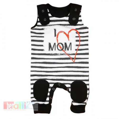 "Dupačky kojenecké ""I LOVE MY MOM"" D1004-61"