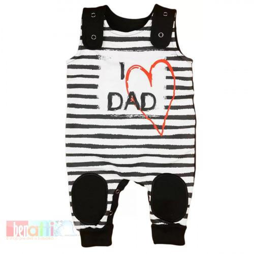 "Dupačky kojenecké ""I LOVE MY DAD"" D1004-62"