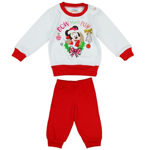 Pyžamo Minnie Vianoce - D1010-73