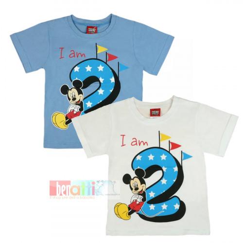 Tričko s krátky rukávom - Mickey - na 2. narodeniny - D1212-75-2