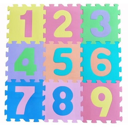 Koberec puzzle ČÍSLA