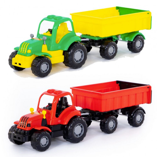Traktor Macher s prívesom - HRS8PL44792