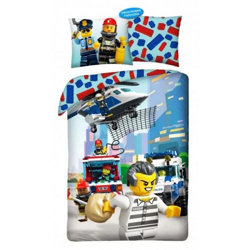 Posteľné návliečky Lego City - JA45445