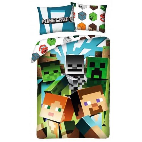Posteľná bielizeň  Minecraft - JA45728