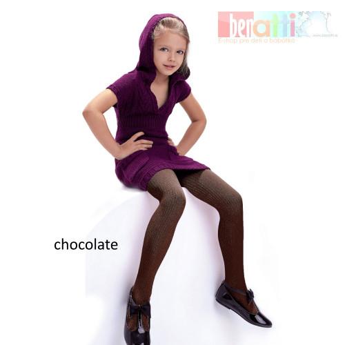 Názov: Pančuchy Agatka - chocolate - KN005